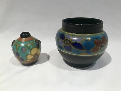 Outstanding Small Gouda Floral Vase