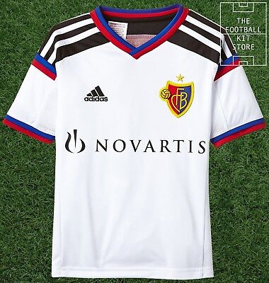 Basel Away Shirt - Official adidas FC Basel Boys Football Jersey - All Sizes
