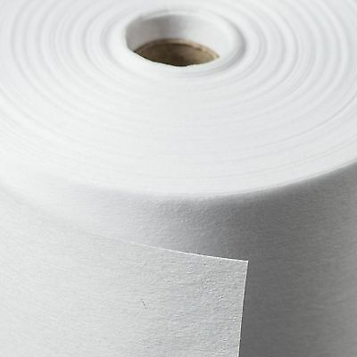 2 Metres PREMIUM Easy Use Iron on Fusible White Interfacing. Light Medium Heavy