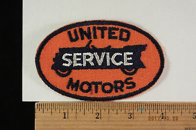 "Vintage United Motors Service Embroidered Patch Embroidered 4""-2.5  Sew-on"