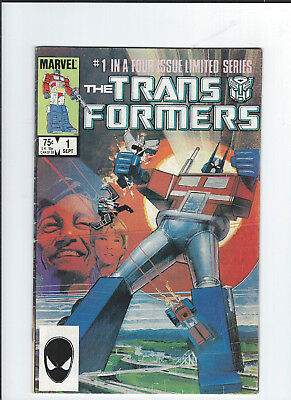 The Transformers #1 (Sep 1984, Marvel) 2nd printing fine