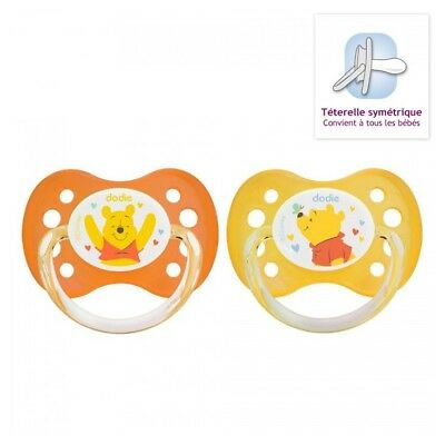 Dodie Disney Baby 2 Sucettes Anatomiques Silicone 0-6 Mois