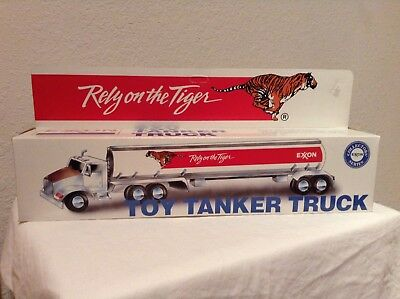 """Exxon """"Rely on the Tiger"""" Toy Tanker Truck"""
