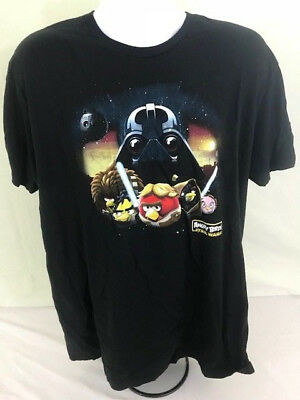 3XL Red Game Ap Cool Fun Rovio Angry Birds Star Wars T shirt Dark Side Force S