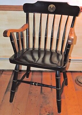S. Bent & Bros. Colonial Spindle Back Arm Chair- EPISCOPAL ACDEMY, PA- GUC
