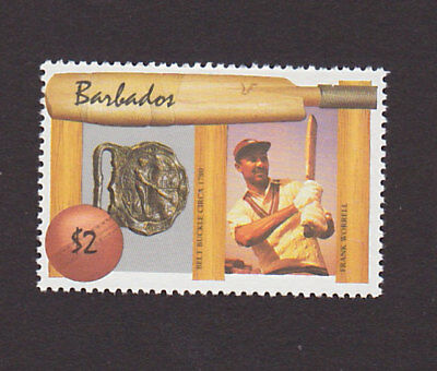 Barbados 722 VF MNH Cricket Sports