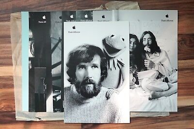 Authentic COMPLETE set of 10 Think Different Posters from Apple Computer