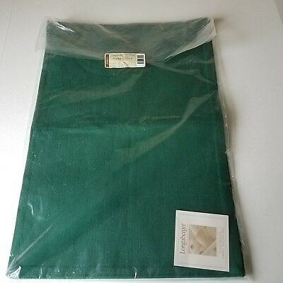 2 Pack of Longaberger Sage Green Placemats 9 x 13 New