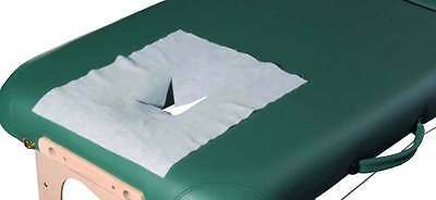 Massage Bed Disposable Face Hole Protector Cover Sheet Medical Dental Beauty 100