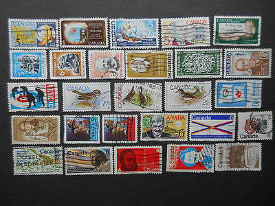 Canada 1968-77 Used Stamp Lot 7 Scans