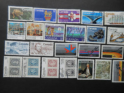 Canada 1978-82 Used Stamp Lot 7 Scans