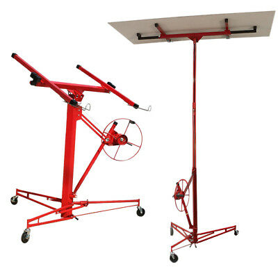 Drywall & Sheetrock Lifting Dry Wall Panel Hoist Plasterboard Mobile Lifter 11FT