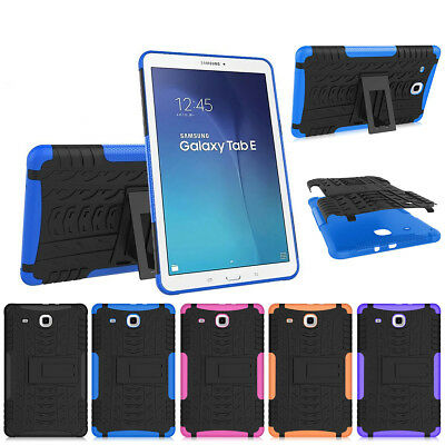 """Heavy Duty Protective Cover Case for Samsung Galaxy Tab E 9.6"""" inch Tablet T560"""