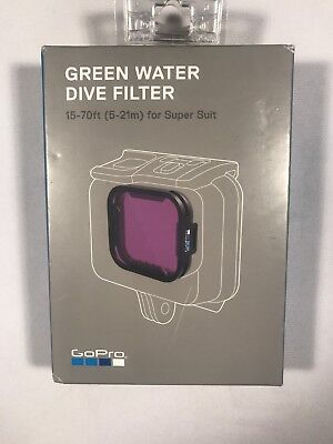 GoPro Green Water Dive Filter For Super Suit Hero5 Black Dive Housing