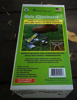 Wire Tek Mole Eliminator Trap In Box