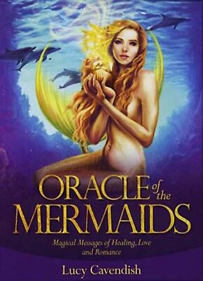 Oracle of the Mermaids NEW Deck and Book Set by Selina Fenech Fantasy Fae Cards
