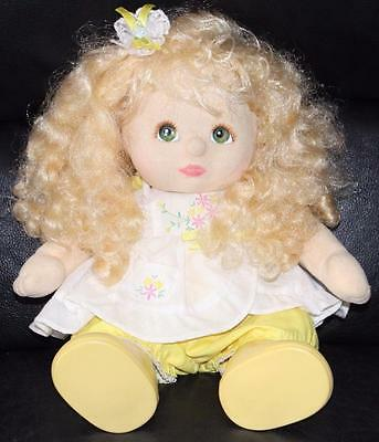 Blonde Ringlet Hair Green Eye MY CHILD Aussie Doll