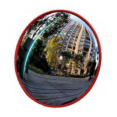 45cm Circular Security and Safety Mirror Indoor Convex Mirror 180° Wide Angle