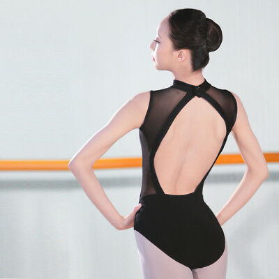 Lady Leotard Dance Gymnastics Ballet Practice Competition Bodysuits Dancewear