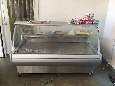 DISPLAY CABINET REFRIGERATED approx 1970 WIDE X 1100 DEEP X 1350 HIGH