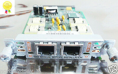 Cisco VIC2-2E/M Second Generation 2-port E&M voice/fax interface Card Invoice