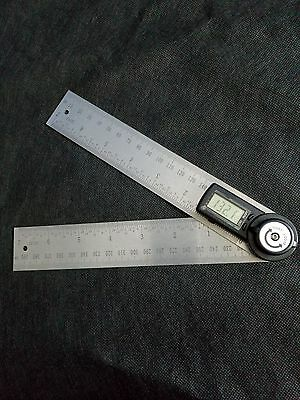 2 in1 400mm Digital Angle Finder & Protractor Ruler 360°  w/ CE