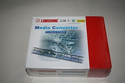 LONGSHINE Media Converter 10Base-2 to 19Base-T Converter ,LCS-883C-TB