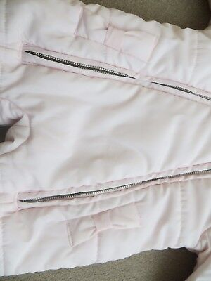 Baby Girls Lili Gaufrette snowsuit size 6 months, perfect cond, hardly used