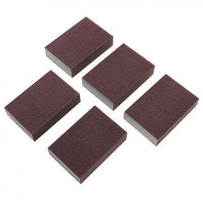 5pcs Mini Wet Dry Sponge Sanding Blocks Sandpaper Pads Grit Cleaning Homeware