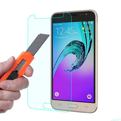 For Samsung Galaxy A3 A5 A7 J3 J5 J7 Cover Tempered Glass Screen Protector Films