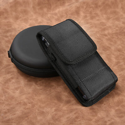 Black Rugged Holster Belt Clip Carrying Case Pouch Cover For Apple iPhone X/XS