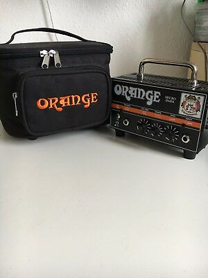 orange micro terror amplifier with power supply picclick uk. Black Bedroom Furniture Sets. Home Design Ideas