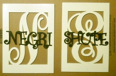 "12"" Wooden Boxed Letter with Name Painted wood monogram home Decor Custom"