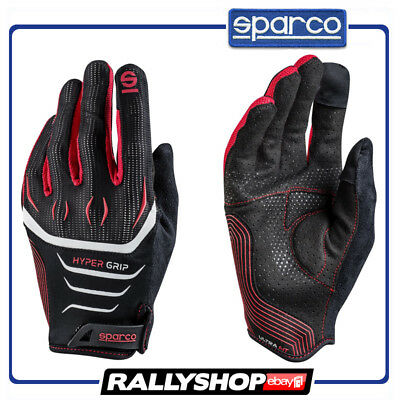 SPARCO GAMING GLOVES Hypergrip Rally Race Racing Game Microfibre Gamer Size XL