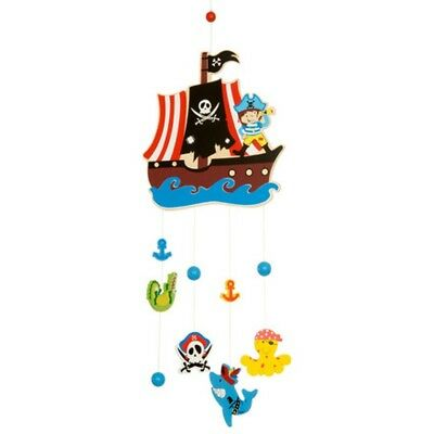 Pirate mobile wooden Big jigs nursery ,play room -great price