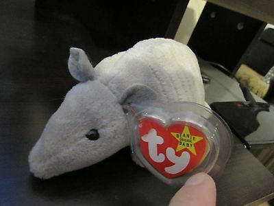 38d17817437 Ty Beanie Babies Tank The Armadillo Mint Condition New With Tag