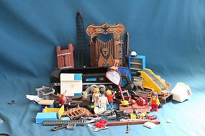 lot of playmobil figures part and accessories toy game vintage
