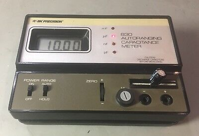 BK Precision 830 capacitance meter Tested
