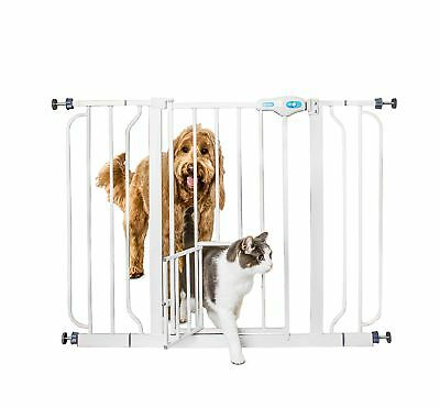 Fireplace Hearth Baby Safety Gate Wide Metal Child Cat Dog Fence Small Pet Door