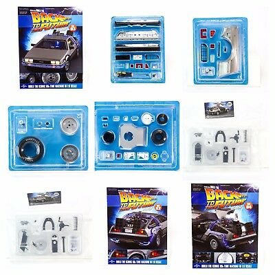 Back to the Future Build the DeLorean by Eaglemoss - Back Issues + Sealed Parts