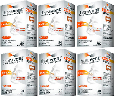 Theravent Snore Therapy Strips (Regular Strength) (6 Pack)