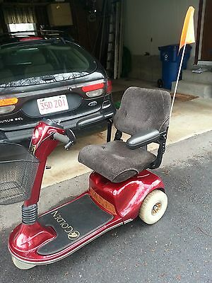 GOLDEN TECHNOLOGIES COMPANION II 3-Wheel Full Size Scooter with or w/o  Bruno lif