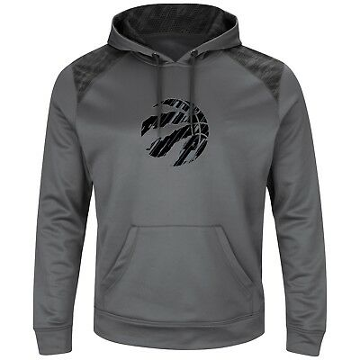 Men's Toronto Raptors Reflective Logo Amor Sweatshirt Hoodie By Majestic Small