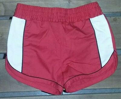 1970s Vintage Baby Boy Red Swim Shorts Trunks by Kricket Klub Size 2T
