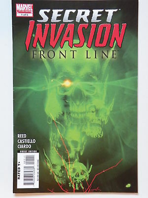 Marvel Secret Invasion Front Line No 1