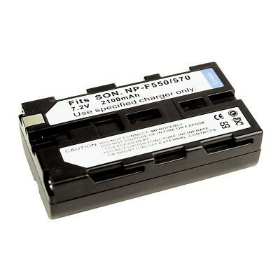 NP-F550 NP-F570 2100mAh Replacement Battery for SONY CCD-TRV201 TRV215 TRV315