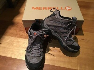 Womens Merrell Moab Mid GTX Hiking Boots, Size US 6, EUR 36