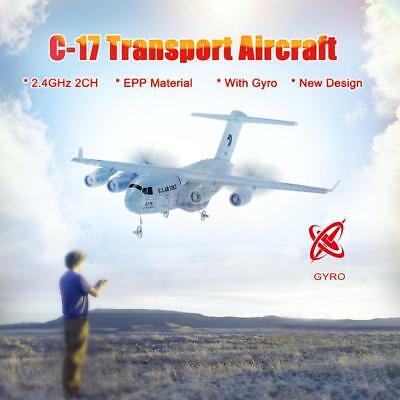 C-17 2.4G 2CH 373mm Wingspan RC Airplane Transport Aircraft EPP w/ Gyro RTF W0G6