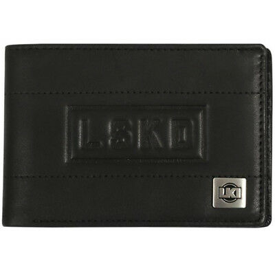 LKI NEW Loosekid Trade Black Leather Adults Mens Money Wallet