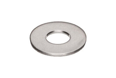 18-8 Stainless Steel Flat Washer #10 ID x 0.500 OD , Qty 1000 pcs Pack